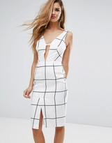 Glamorous Plunge Front Dress