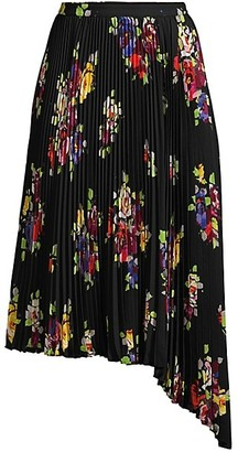 Kate Spade Rare Roses Pleated Skirt