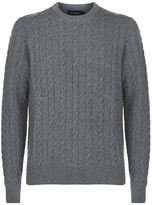 Hackett Cable Knit Sweater