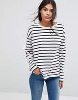 Selected Natali Boatneck Striped Jumper