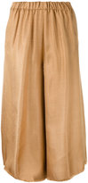 Forte Forte wide leg cropped pants - women - Polyamide/Viscose - I