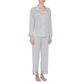 Eberjey Nordic Stripes Heritage Pj Set Multi Xs