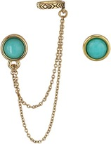 House Of Harlow Coronado Double Chain Ear Cuff Earrings Earring