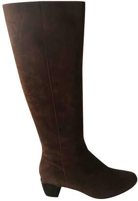 Vanessa Bruno Brown Suede Boots