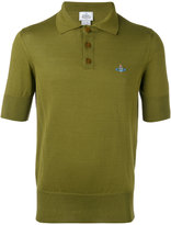 Vivienne Westwood Man - embroidered logo polo shirt - men - Cotton - S