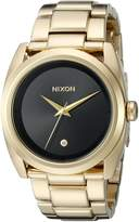 Nixon Women's A935510 Queenpin Analog Display Japanese Quartz Gold Watch