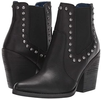 Dingo Stay Sassy (Black Leather) Women's Pull-on Boots