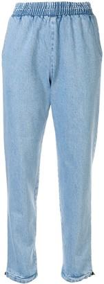 Ksenia Schnaider Light Blue Denim Pants