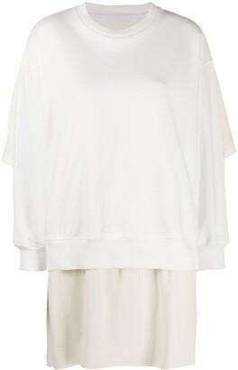 MM6 MAISON MARGIELA Layered Sweatshirt
