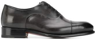 Santoni derby carter lace up shoes
