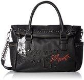 Desigual Bag Liberty Black Daisy
