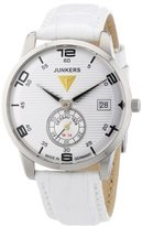 Junkers Women's Quartz Watch Wellblech Flatline Lady Ronda6004 63355 with Leather Strap