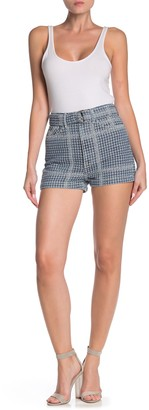 GRLFRND Nico Belted Woven Shorts
