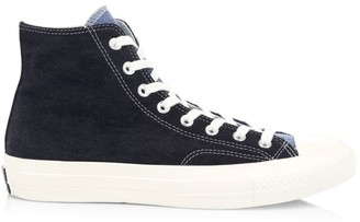 Converse Renew Denim Chuck 70 High Top Denim Sneakers
