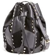 Antik Batik Dual Leather Bucket Bag
