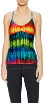 Trina Turk Tie Dye T-Back Tank Top