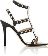 Valentino Women's Rockstud Multi-Strap Sandals-RED, PURPLE, BLACK