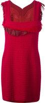 Chanel Vintage robe à détails de fran