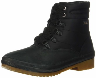 Keds Women's Camp Boot Leather + Nylon Thinsulate Wcx Cold Weather & Shearling