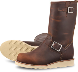 Red Wing Shoes Shoes Classic Engineer 3471 Copper Rough & Tough - leather | brown | US 7 - Brown/Brown
