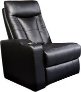 Asstd National Brand Dallas Home Theater Left Faux-Leather Recliner
