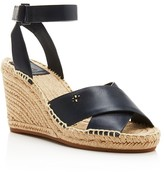 Tory Burch Bima Espadrille Wedge Ankle Strap Sandals
