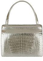 Nancy Gonzalez Small Crocodile Frame Bag