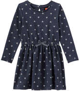Joe Fresh Toddler Girls' Glitter Dress, Navy Mix (Size 5)