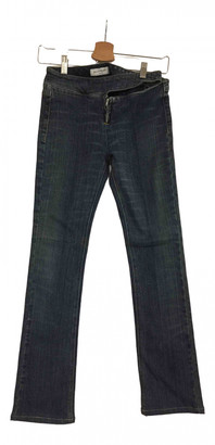Jill Stuart Navy Cotton Jeans for Women
