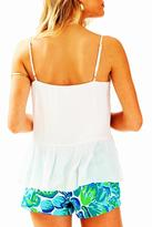 Lilly Pulitzer White Camisole Top