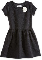 Epic Threads Little Girls' Rose-Quilted Dress, Only at Macy's