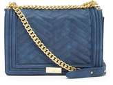 BCBGMAXAZRIA Dusty Blue Calabasas Shoulder Bag