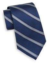 Saks Fifth Avenue Striped Silk Tie