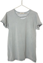 Ragdoll LA DISTRESSED VINTAGE TEE Dusty Blue