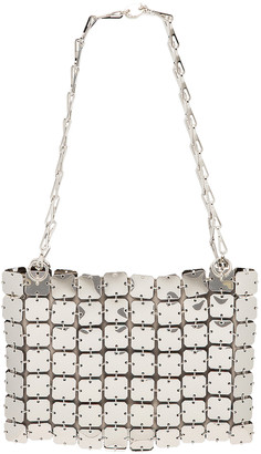 Paco Rabanne Iconic Square 1969 Bag in Silver | FWRD