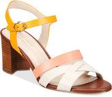 Cole Haan Jianna Strappy Block-Heel Sandals