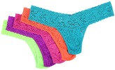 Hanky Panky Low Rise Gold Boxed Thong 5-Pack