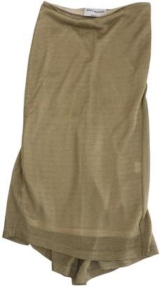 Anna Molinari Gold Skirt for Women
