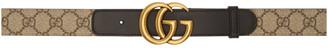 Gucci Beige GG Supreme Belt