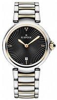 Edox Women's 57002 357RM NIR LaPassion Analog Display Swiss Quartz Two Tone Watch