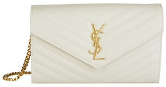 Saint Laurent Monogram Envelope Wallet Bag