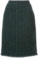 Paule Ka tweed pencil skirt