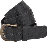 A. Kurtz Shaw Pattern Leather Belt