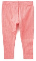 Tea Collection Pointelle Stretch Cotton Leggings (Baby Girls)