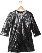 Dolce & Gabbana Girls' Embellished Shift Dress w/ Tags