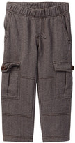 Tea Collection Herringbone French Terry Cargo Pant (Toddler & Little Boys)