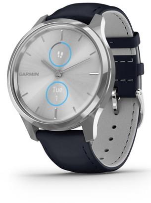 Garmin vivomove(R) Luxe Hybrid Smartwatch, 42mm