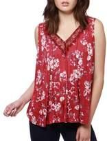 Lucky Brand Floral Sleeveless Top