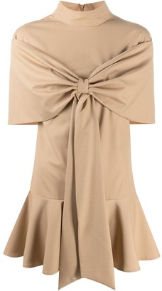 Atu Body Couture Bow Front Party Dress
