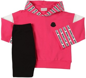 Moncler Cotton Sweatshirt & Jersey Leggings
